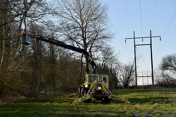 60 kV luftledninger